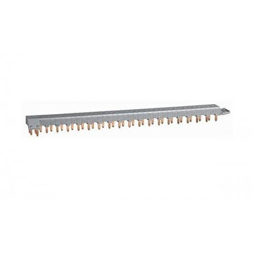 Peigne d'alimentation tétrapolaire tête de groupe HX³ horizontal optimisé 18 modules Legrand Réf: 405202