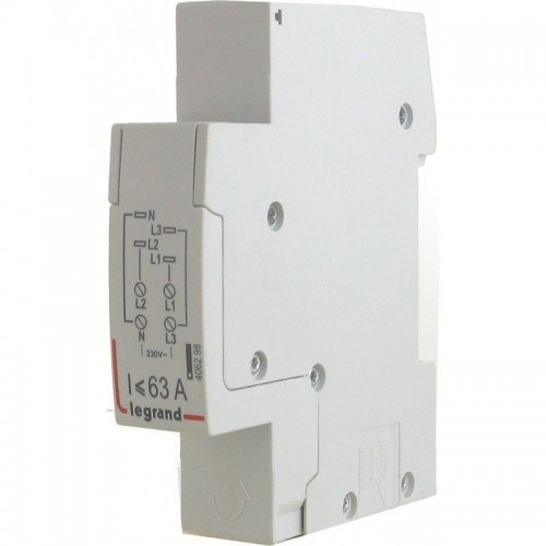 Module d'alimentation pour peigne tétrapolaire tête de groupe HX³ horizontal 1 module section 6 à 16 mm² Legrand Réf. 406298