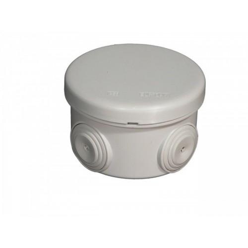 Boite de dérivation étanche ronde IP55 diamètre 60mm Eur'Ohm Réf: 50001
