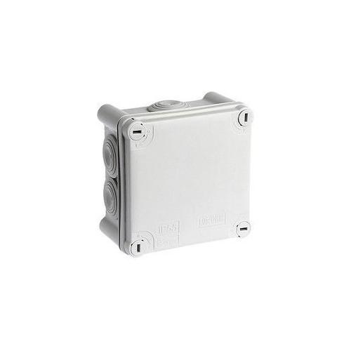 Boite de dérivation IP55 105x105x45mm Eur'Ohm Réf: 50004