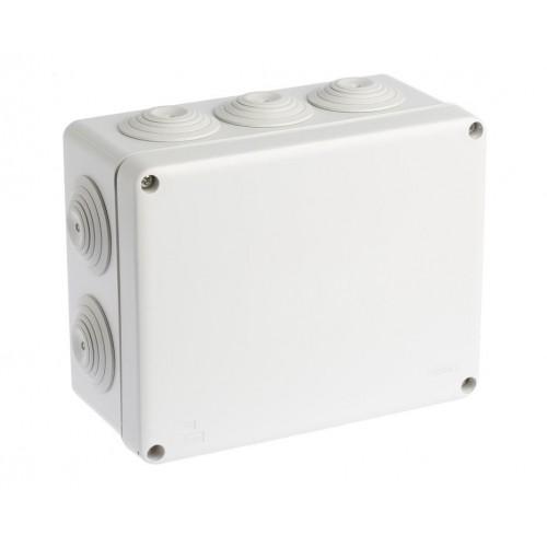 Boite de dérivation étanche IP55 210x170x80mm Eur'Ohm Réf: 50008