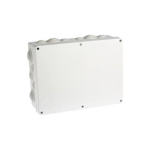 Boite de dérivation IP55 étanche 360x270x125mm Eur'Ohm Réf: 50011