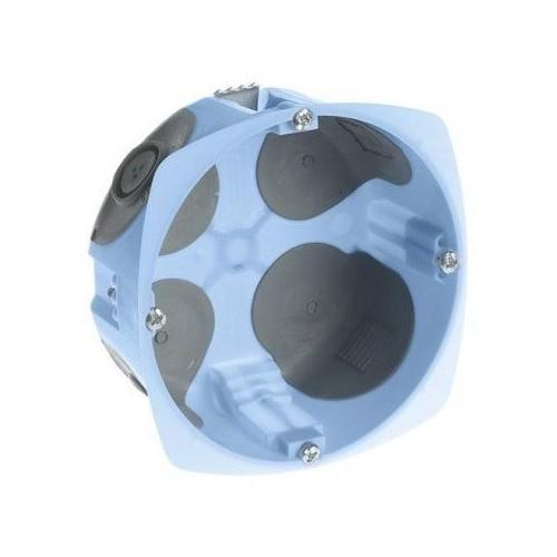 Boite d'encastrement étanche à l'air diamètre 85mm profondeur 50mm Eur'ohm Réf: 52071