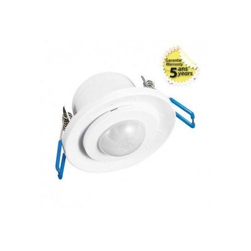 Détecteur de mouvement infrarouge encastrable blanc Vision EL Réf: 75493