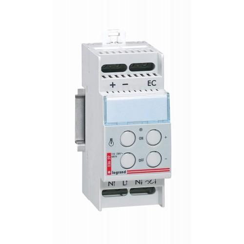 Télévariateur Lexic pour charges incandescentes 60-600W Legrand Réf: 003659