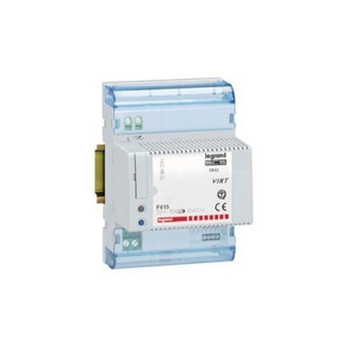 Relais variateur Lexic contrôle de l'éclairage lampes halogènes TBT + transfo Legrand Réf: 003653