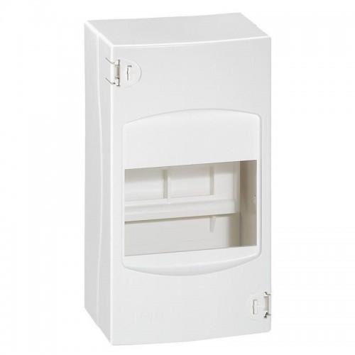 Coffret cache-bornes 4 modules blanc RAL9010 Legrand Réf: 001304