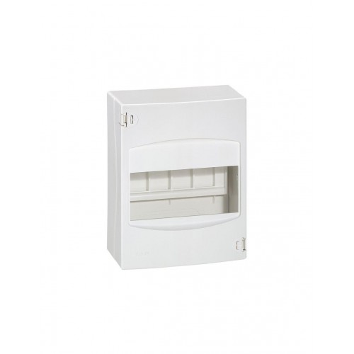 Coffret cache-bornes 6 modules blanc RAL9010 Legrand Réf: 001306