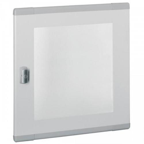 Porte plate vitrée XL3 160/400 pour coffret et armoire H750/845mm Legrand Réf: 020284
