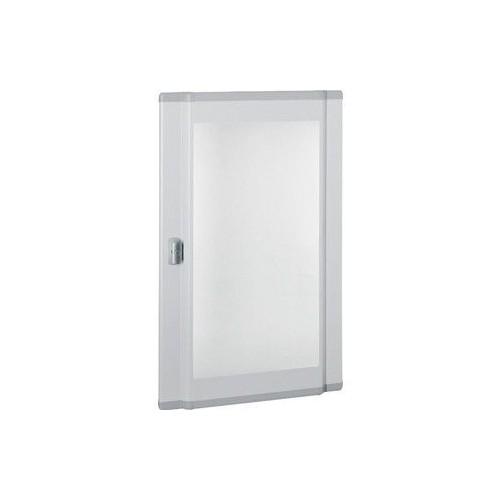 Porte plate vitrée XL3 160/400 pour coffret et armoire H900/995mm Legrand Réf: 020285