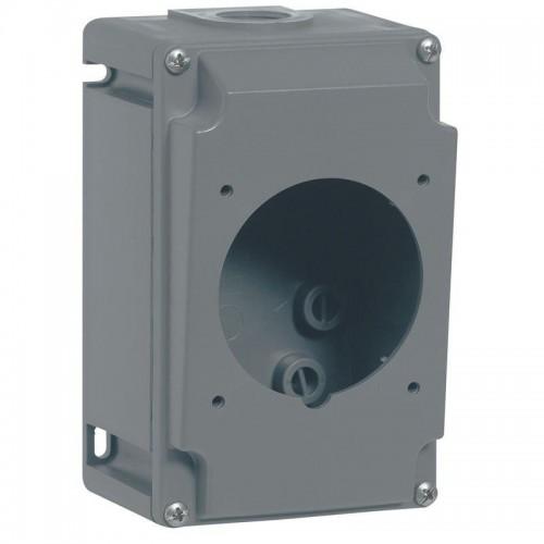 Boîtier réversible hypra IP44/66/67-55 - 2P+T/ 3P+T/3P+N+T -32A plastique Legrand Réf: 052940