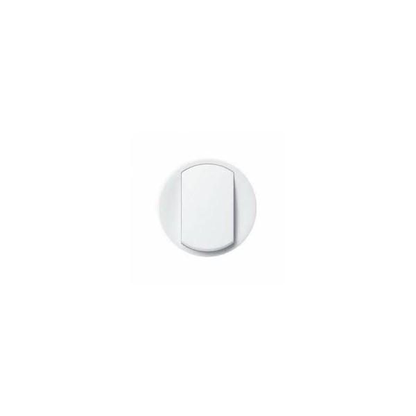 Enjoliveur blanc simple allumage Céliane Réf: 68001