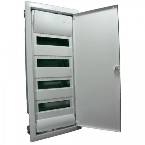 Coffret électrique encastrable 4 rangées 48+8 modules Legrand Réf: 001514