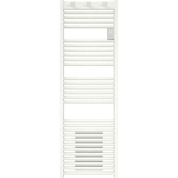 Sèche serviettes électrique Doris vertical 1000 + 1000W avec soufflerie Atlantic Réf: 850143