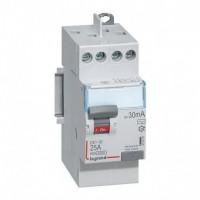 Interrupteur différentiel DX3 25A type AC Legrand Réf: 411610