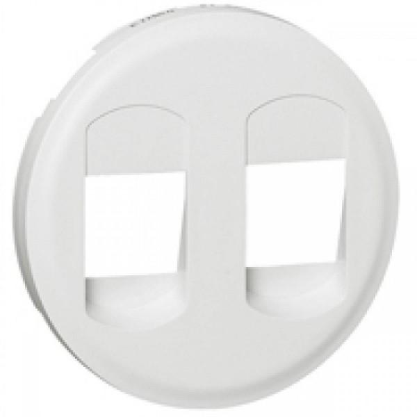 Enjoliveur blanc haut parleur simple Céliane Réf: 68212