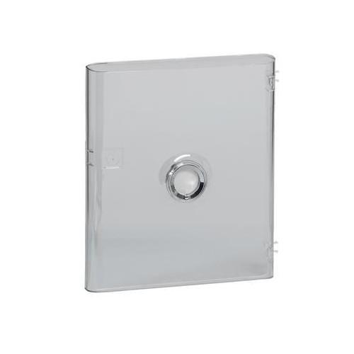 Porte Drivia transparente IP40 IK07 pour coffret Drivia 1 rangée 13 modules Legrand Réf: 401341