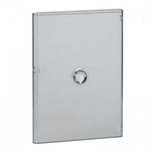 Porte Drivia transparente IP40 IK07 pour coffret 3 rangées 18 modules Legrand Réf: 401243