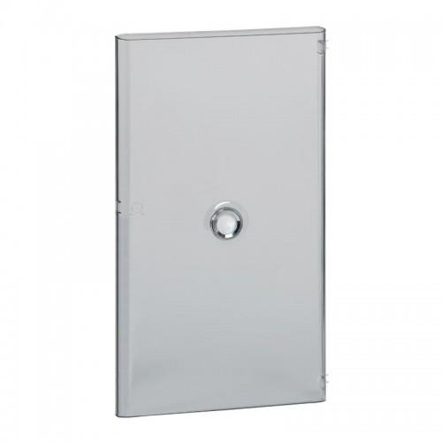 Porte Drivia transparente IP40 IK07 pour coffret 4 rangées 18 modules Legrand Réf: 401244
