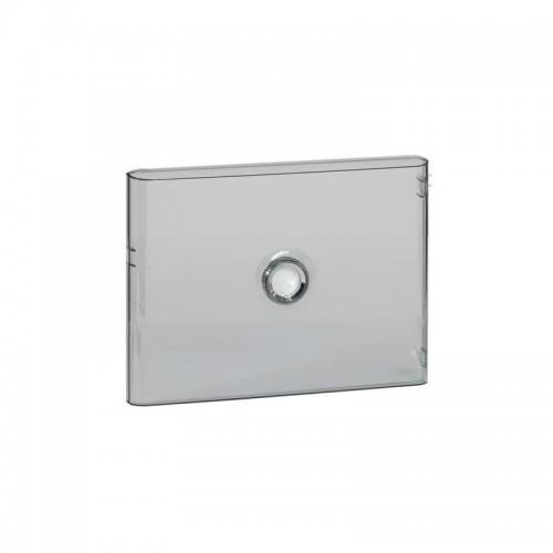 Porte Drivia transparente IP40 IK07 pour coffret 1 rangée 18 modules Legrand Réf: 401241