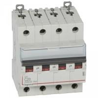 Disjoncteur 4 pôles DX³6000 10kA arrivée haute et départ bas à vis 4P 400V~ - 20A - courbe C Legrand Réf: 407899