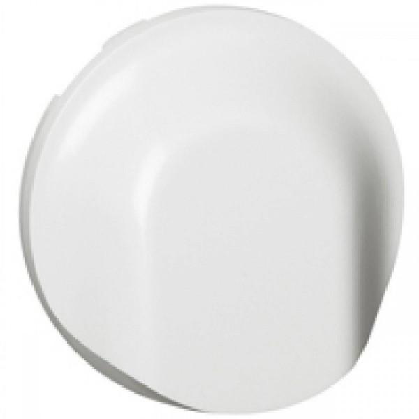 Enjoliveur sortie de cable blanc Céliane Réf: 68141
