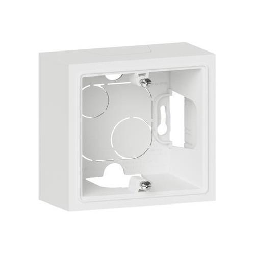 Cadre saillie 1 poste blanc Legrand Dooxie Réf: 600041