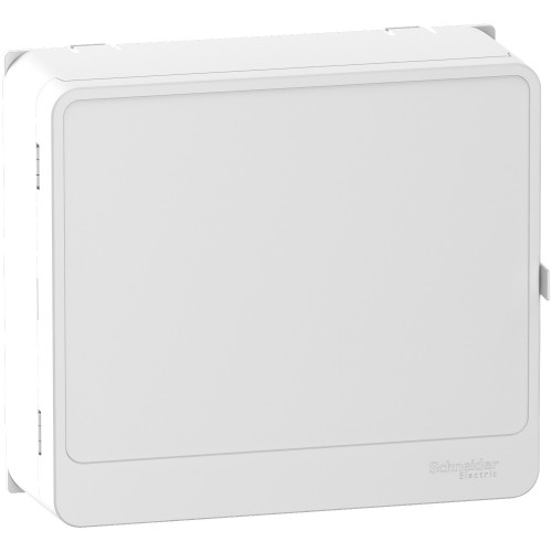 Habillage + porte  Styl blanc13 modules Schneider Réf: R9H13418