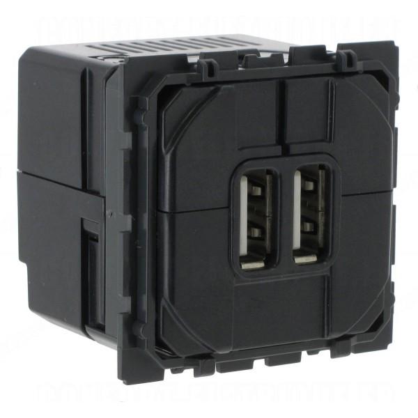 Mécanisme prise double USB Céliane Réf: 67462