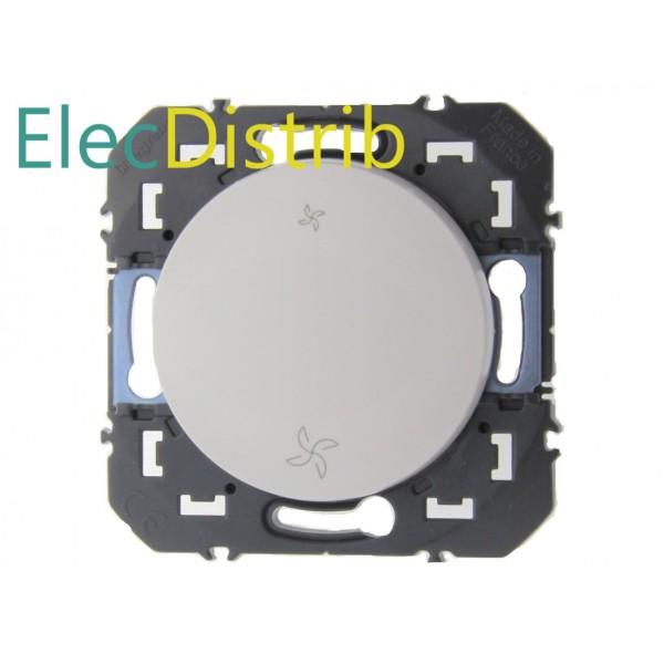 Interrupteur de VMC 2 positions Blanc Dooxie Legrand Réf: 600007