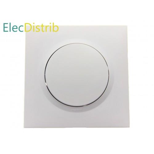 Dooxie Complet : Interrupteur Va-et-Vient et Plaque de Finition blanche Legrand Réf. 600001 et 600801