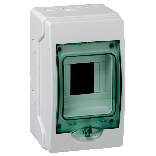 Mini coffret étanche 4 modules Schneider Kaedra Réf: 13957