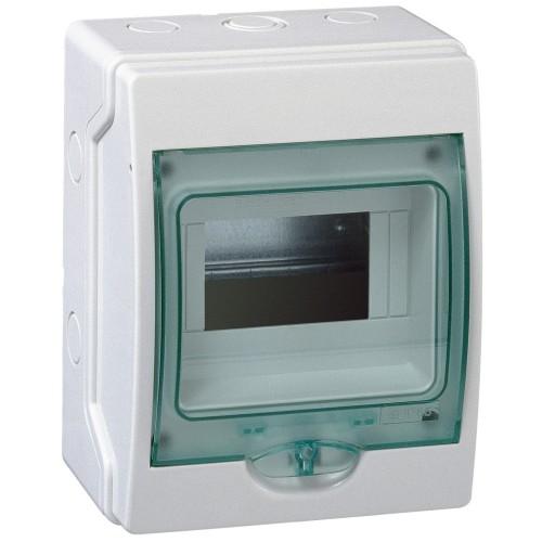 Mini coffret étanche 6 modules Schneider Kaedra Réf: 13958