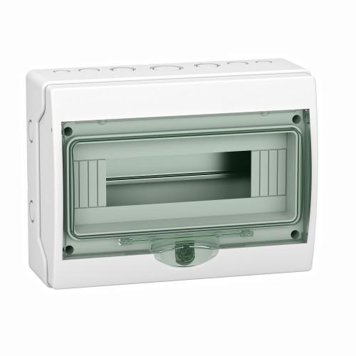 Mini coffret étanche 12 modules  Schneider Kaedra - 267 x 200 mm - Réf: 13960