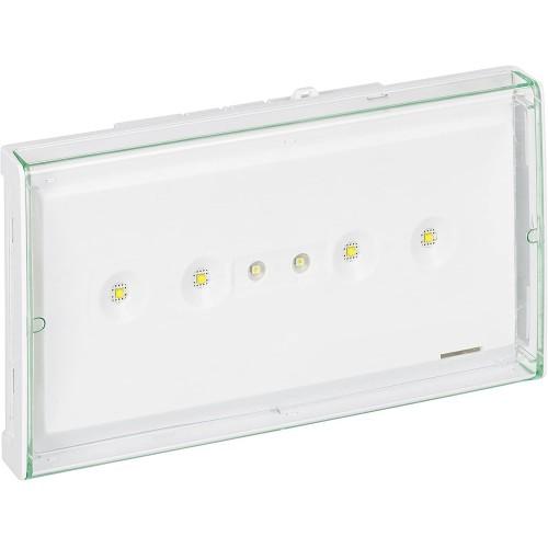 BAES d'ambiance saillie LED 400lm IP43 IK07 plastique SATI connecté visibilité ERP et ERT Legrand Réf: 062565