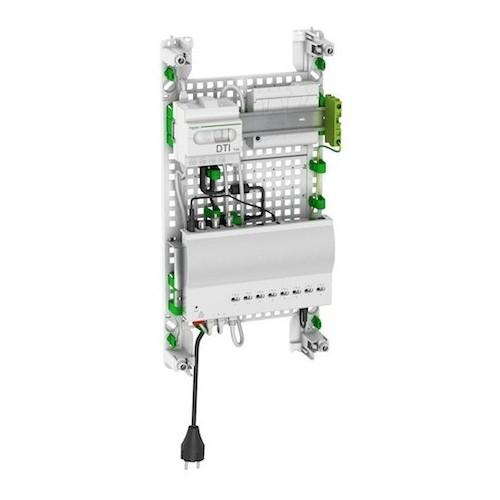 Coffret de communication LexCom Home grade 3 S performance Alvidis Auto Schneider Resi9 Réf: VDIR59003