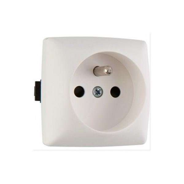 Prise de courant à bornes automatiques saillie composable Legrand Otéo Réf: 086127