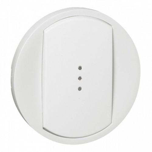Enjoliveur simple allumage à voyant blanc Céliane Réf: 068003
