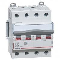 Interrupteur sectionneur DX3 - IS 4 pôles 400V~ -40A Legrand Réf: 406480