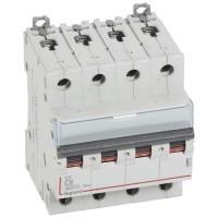 Disjoncteur tétrapolaire 6A Courbe C DX3 - 6000 10kA 400V vis / vis Legrand Réf: 407894