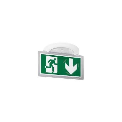 BAES d'évacuation encastré à LEDs Kickspot IP40 IK04 plastique SATI Adressable pour ERT et ERP Legrand Réf: 062624