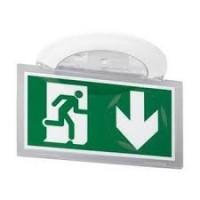 BAES d'évacuation encastré à LEDs Kickspot IP40 plastique SATI adressable ERT et ERP Legrand Réf: 62624