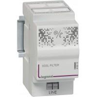 Filtre maître et répartiteur téléphonique 3 sorties 1 sortie modem 2 modules Legrand Réf: 413015