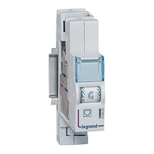 Module de brassage RJ45 pour réseau multimédia Legrand Réf: 413003