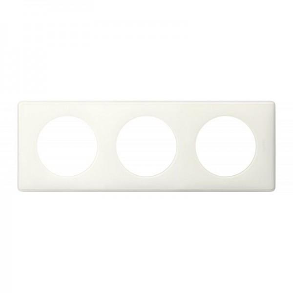 Plaque Mémories 3 postes Yesterday blanc Céliane Réf: 66633