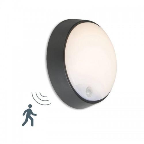 Hublot extérieur avec détecteur 14 watts Réf: 68/CL4R-14W-NW/SENSOR
