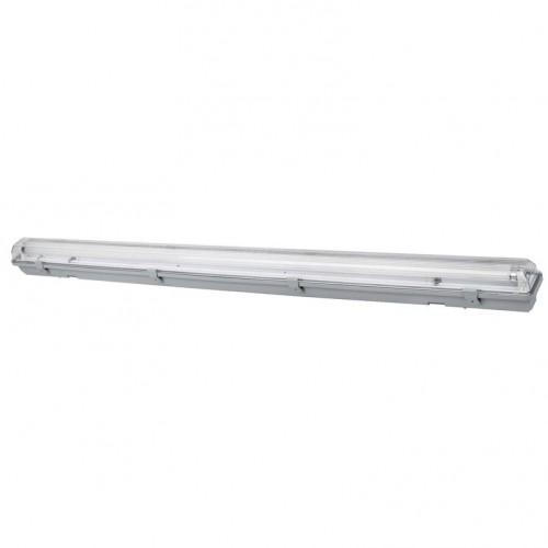 Park étanche 18 watts simple avec néon LED 120cms IP65 Réf: 62/MS136-2