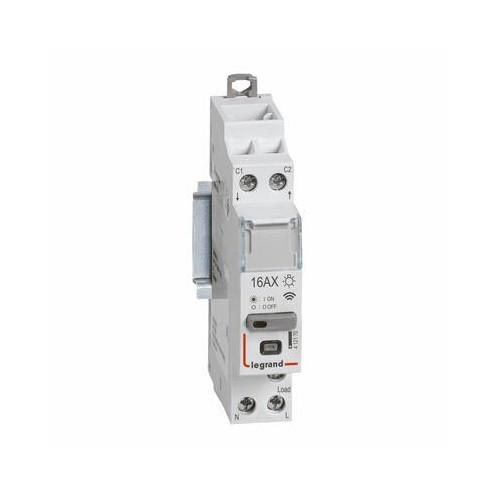 Télérupteur modulaire pour installation connecté Drivia with Netatmo silencieux 16AX 230V Legrand Réf: 412170