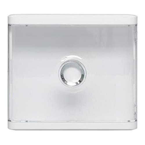 Habillage pour platines de branchement Drivia avec porte transparente Legrand Réf: 401188
