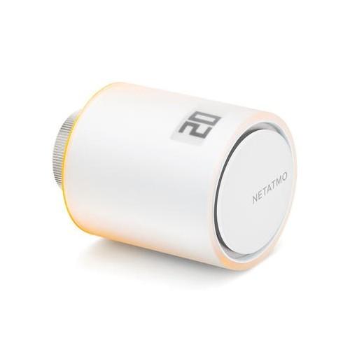 Tête thermostatique additionnelle With Netatmo fonctionne avec thermostat ou starter pack intelligents Legrand Réf: NAV-PRO